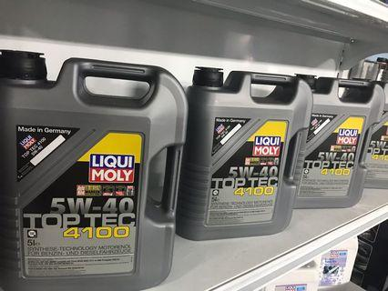 LIQUI MOLY TOP TEC 4100 Promotion