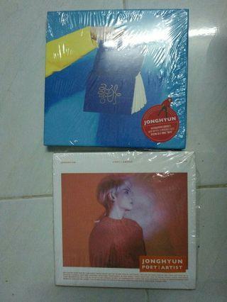 JONGHYUN SHINEE ALBUMS
