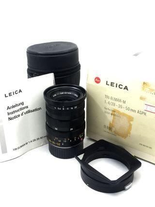 Leica Tri Elmar 28-35-50mm F4 ASPH