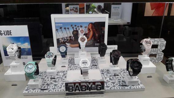 BABY G watch dapatkan promo cicilan tanpa CC bunga 0% DP ringan!!