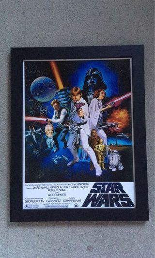 Star Wars: A New Hope Theatrical Frames Poster