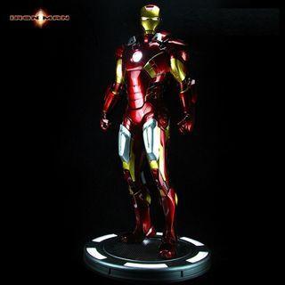 Preorder - Marvel The Avengers Ironman Mark 7 MK7 Half Size Display Statue