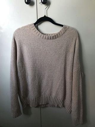 Knit Jumper Nude/cream