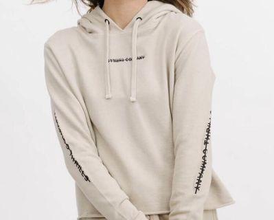 Thrills cropped hoodie
