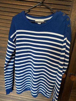 Preloved H&M LOGG striped jumper size S