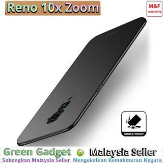 OPPO Reno 10X Zoom Case Cover Thin Fit Hard 硬壳(Black)