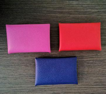 New Hermes Calvi cardholders available at only $420 each