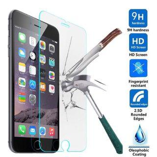 9H High Quality Clear Tempered Glass Screen Protector for Apple iPhone 7 Plus and 8 Plus