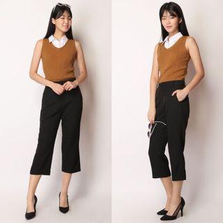 AFA Sasha Cropped Pants - Black (M)