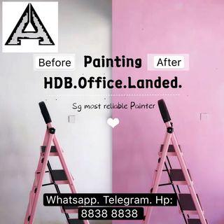 Hdb. Condo. Office. Painting Services