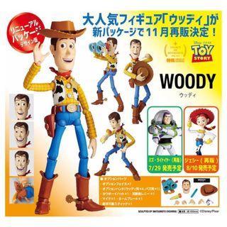 """[訂貨] 海洋堂 反斗奇兵 胡迪 Legacy of Revoltech """"TOY STORY"""" Woody Renewal Package Design Edition"""