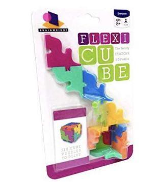 Brainwright Flexi Cube, The Bendy Stretchy 3D Puzzle 8+yrs