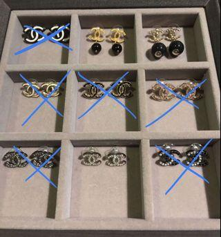 (Update) Authentic Chanel Earrings