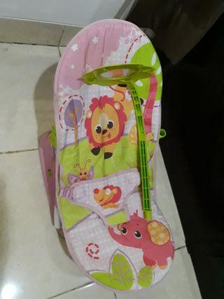 Bouncer Sugar Baby pink