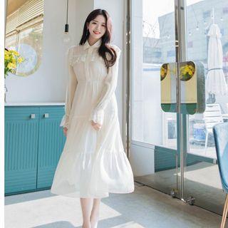 轉賣 原價2400 ATTRANGS 正韓 甜美氣質蕾絲洋裝