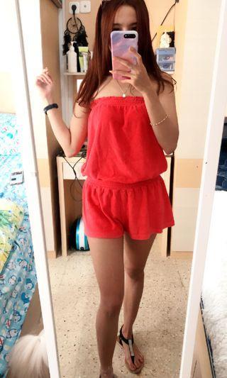 Jumpsuit / Pink Jumpsuit