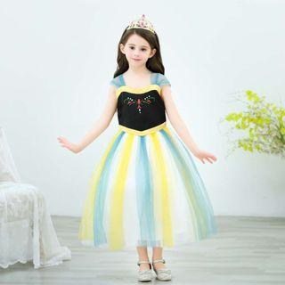 2019 New design Frozen Anna Princess Dress ready stock all sizes