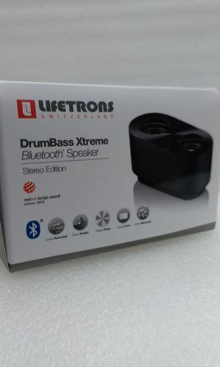 Lifetrons Bluetooth Stereo Speakers 藍芽喇叭