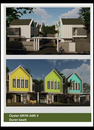 Rumah minimalis Durensawit