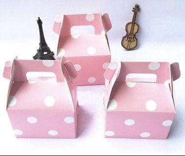 Brand New Mini Gable Candy Boxes (Set of 12)