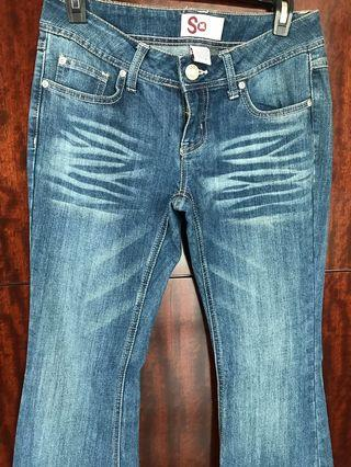Brand New Authentic Faded Jeans
