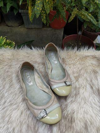 Authentic Tods Ballerina Flats size 37
