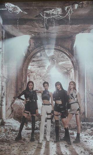 Blackpink - Kill This Love Poster + FREE GIFT
