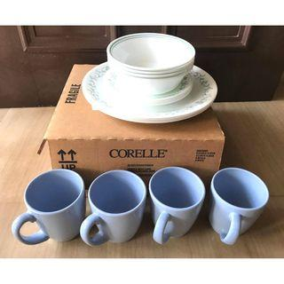 Corelle 16 Piece Dinnerware Set Country Cottage Series
