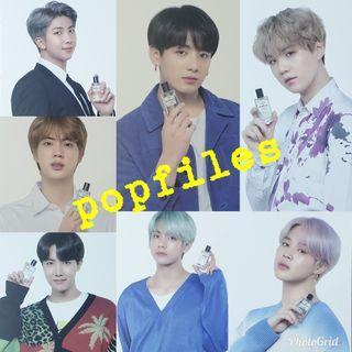 BTS vt perfume photocard