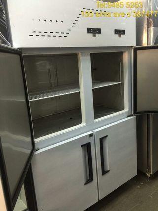 4door upright half Chiller half Freezer