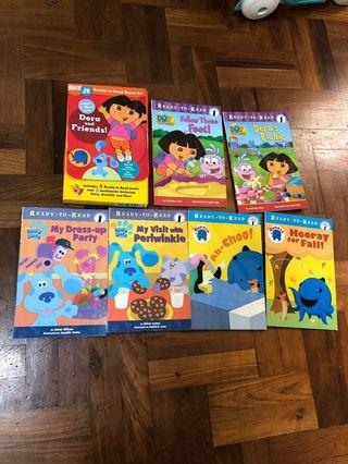 🚚 Dora and friends ready to read boxed set
