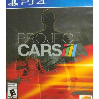 Used Playstation 4 PS4 Project Cars Region All (NEAREST MRT)