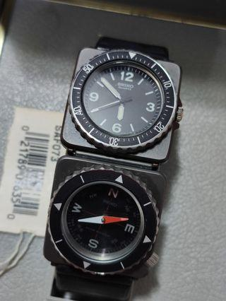 Seiko 2c21 0080 contra military watch 1980s