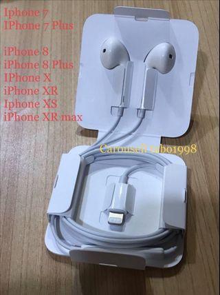 New apple Iphone original 原裝正版耳機 耳筒earphone