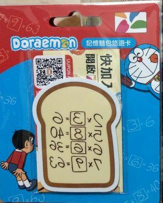 售台灣 Doraemon 記憶麵包  悠遊卡