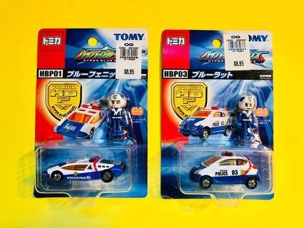 Tomica Hyper Blue Police