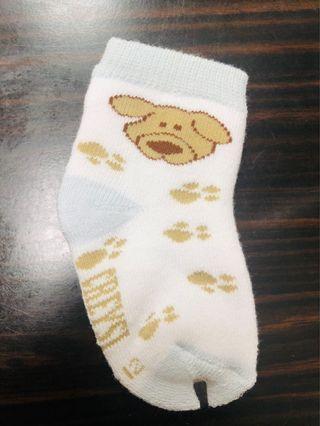 棉質狗狗嬰幼兒襪6入