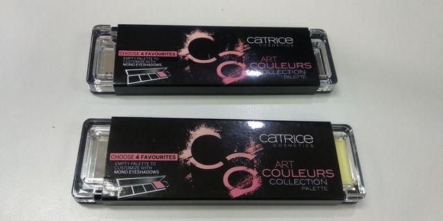 Catrice art coulers collection empty palette