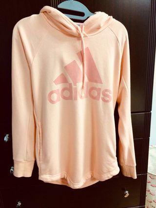 🚚 [可小議]Adidas愛迪達連帽上衣(粉色)