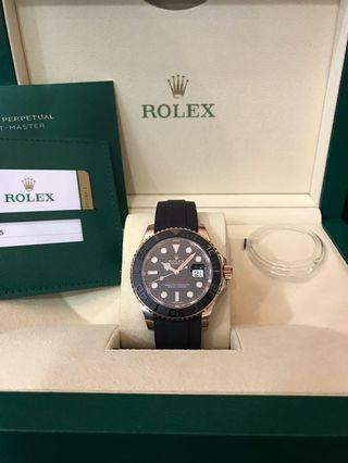 Rolex Yacht Master 116655 Everose Gold 40mm.