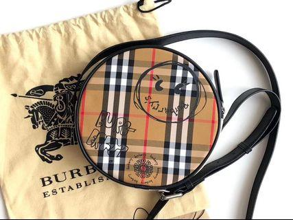 Burberry circle bag