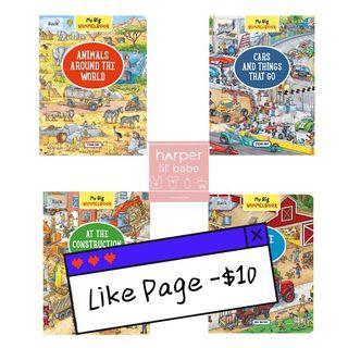 ‼️Like Page再減$10‼️ 歐洲 經典 兒童 啟蒙書 🎁 My Big Wimmelbook