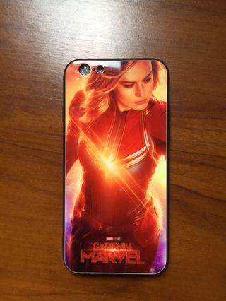 Tempered glass iphone 6 (Captain Marvel)