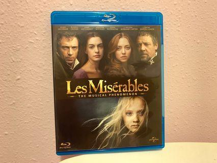 孤星淚 Les Misérables Blu-ray (藍光碟) 極新 香港版