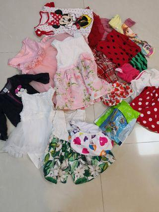 Beautiful Baby Girl Clothes, Dress, Swim Diapers
