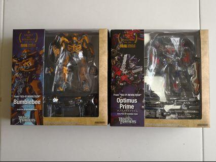 🚚 Kaiyodo Revoltech transformers