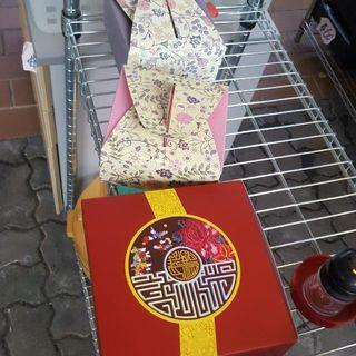 Packing Box And Moon Cake Boxes For Sale At Yishun Blk 292 Yishun St 22 #01-287A Call 90899511 From 10cts
