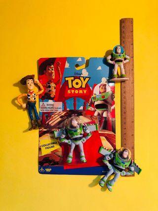 Toy Story Buzz Lightyear/Woody mini figures