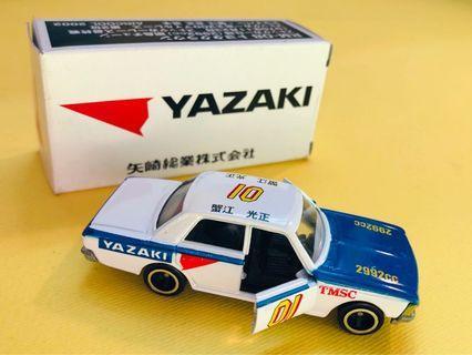 Tomica Toyota Crown Yazaki racing car