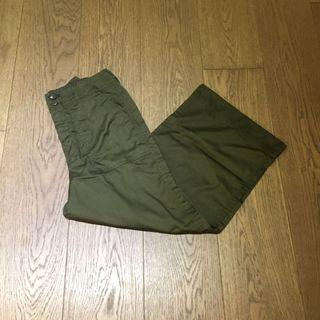 WEGO Army Green Olive Wide pants 軍綠色闊褲